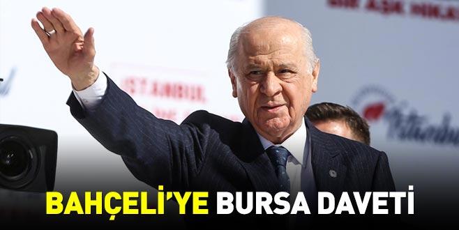 Bahçeli'ye Bursa daveti