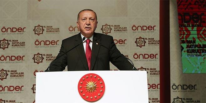 Cumhurbaşkanı Erdoğan'dan İBB tepkisi
