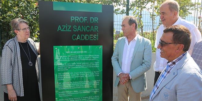 Uludağ OSB'den Aziz Sancar'a vefa