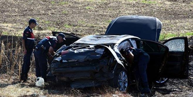 Cumhurbaşkanı'nın davetine giden belediye başkanının konvoyunda kaza