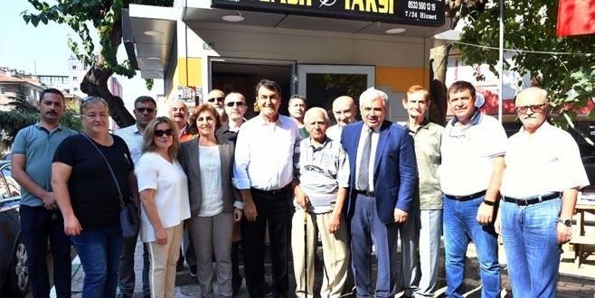 Taksicilere Osmangazi desteği