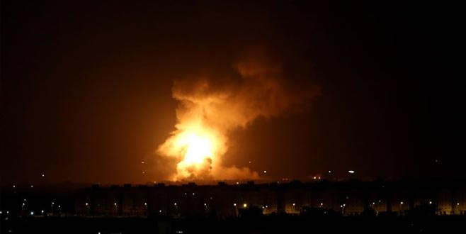 İsrail Gazze'de Hamas hedeflerini vurdu