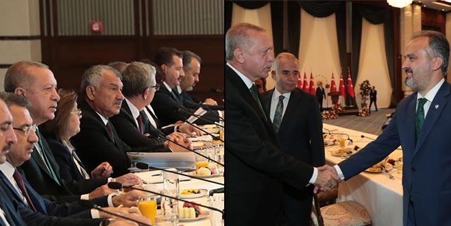 Başkan Aktaş 'büyük' buluşmada yaşananları anlattı