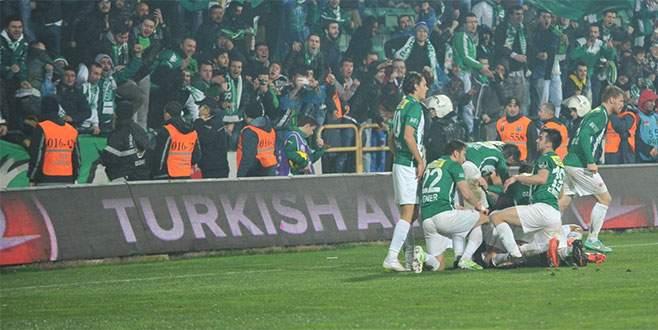 Bursaspor'un konuğu Çaykur Rizespor!