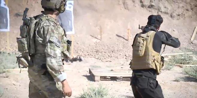 ABD ordusu ve YPG/PKK'dan askeri eğitim görüntüsü