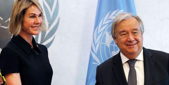 ABD'nin yeni BM büyükelçisi görevine başladı