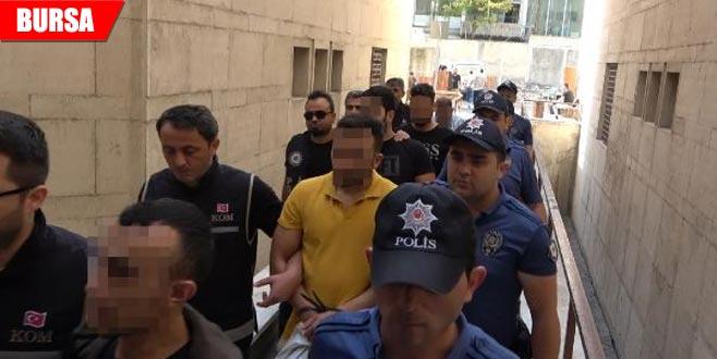 Organize suç örgütüne operasyonda 10 tutuklama