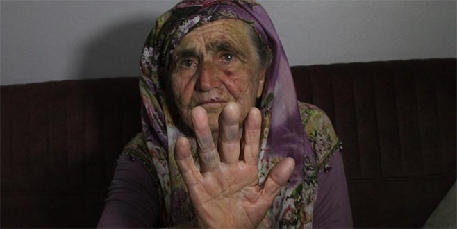 80 yaşındaki kadına saldırı