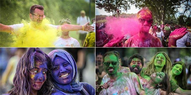 Bursa'da 'renkli' görüntüler! Yaklaşık bin kişi...