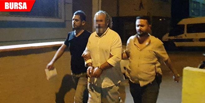 Uyuşturucu operasyonunda tutuklama
