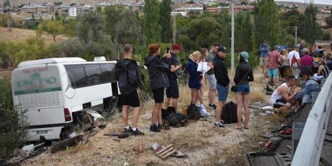 Turistler dehşeti yaşadı: Yaralılar var
