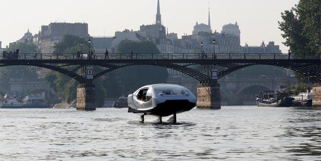 'Uçan taksi' testsürüşü yaptı