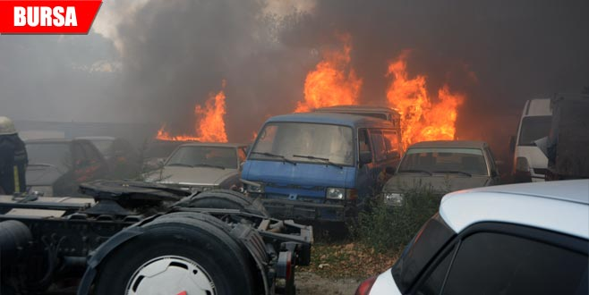 24 aracın yanmasına sebep olmuştu... Serbest bırakıldı