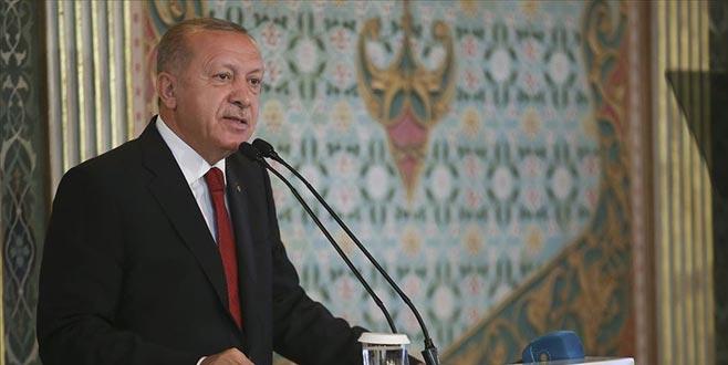 Erdoğan: Fiziki ve manevi olarak yıkıma uğramış bir medeniyetin öne çıkma ihtimali yok