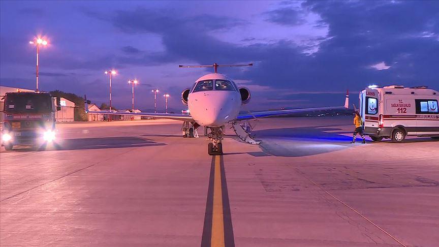 Hava ambulansı sağlık ekibinin umut yolculuğu