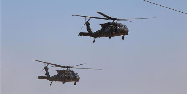 Fırat'ın doğusunda 6. ortak hava devriyesi