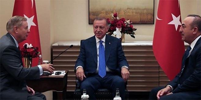 Cumhurbaşkanı Erdoğan, ABD Senatörü Graham ile görüştü