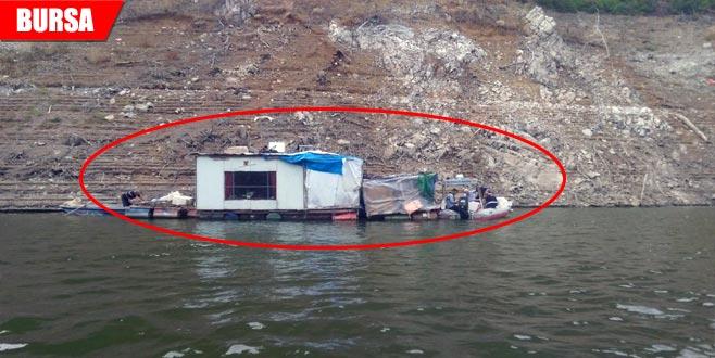 Barajın üzerinde tespit edildi! Hemen operasyon düzenlendi...