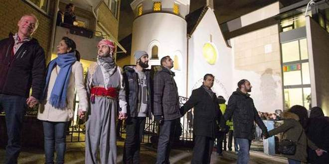 Sinagog'a barış halkası