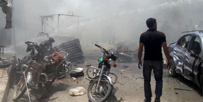 Suriye'nin kuzeyinde muhaliflere saldırı: 14 yaralı