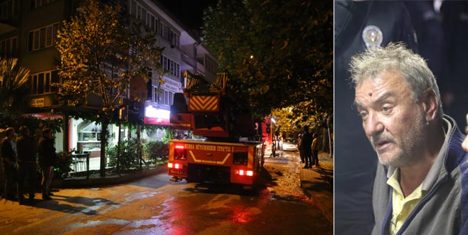 Bursa'da yangın faciası: 1 ölü