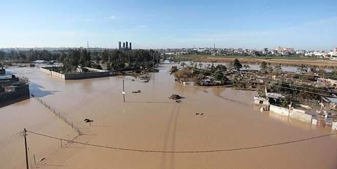 İsrail baraj sularını Gazze yönüne boşalttı