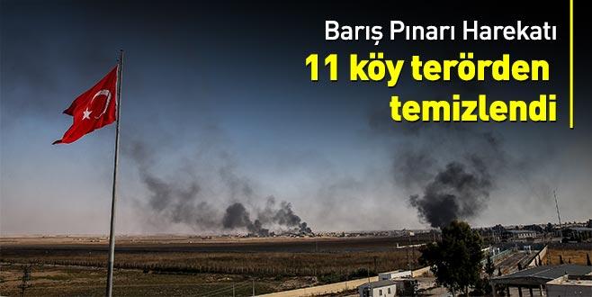 Barış Pınarı Harekatı'nda 2. gün