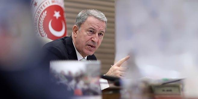 Bakan Akar'dan 'Barış Pınarı' açıklaması