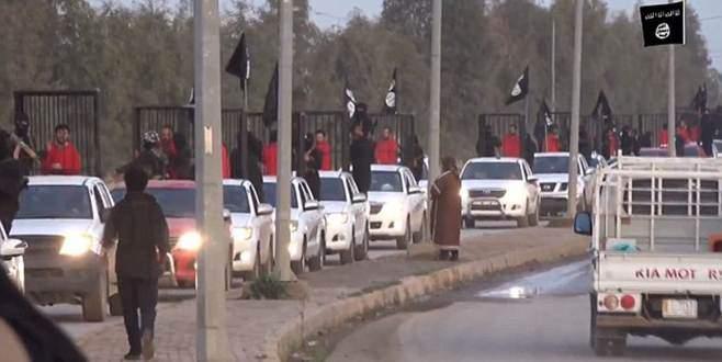 IŞİD'den yine kafes şov