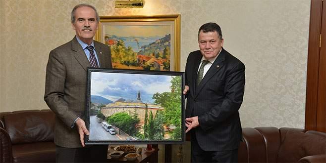 Başkan Altepe'den Yargıtay Başkanına ziyaret