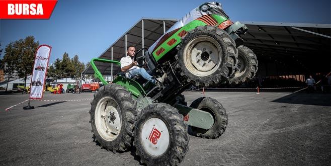 Traktörler 'Makrobat'la eğimli arazide güvende