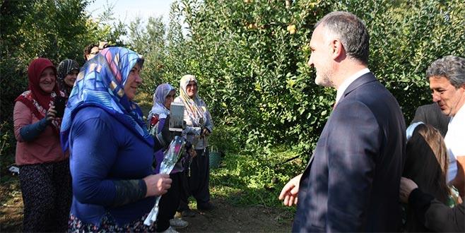 Başkan Taban Çiftçi Kadınların Gününü Kutladı
