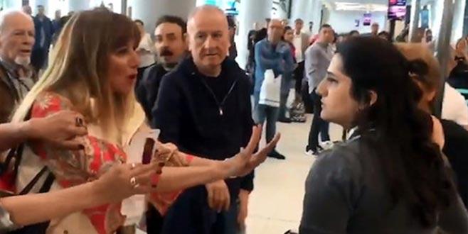 Havalimanı çalışanına hakaret davasında karar