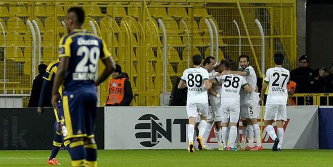 Fenerbahçe evinde yenildi