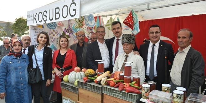Mustafakemalpaşa'da 'lezzetli' festival
