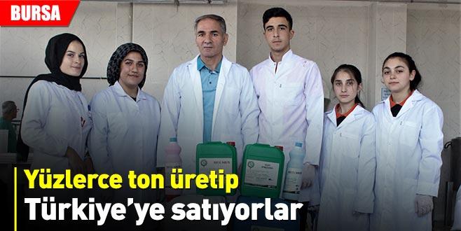 Kimya fabrikası gibi okul
