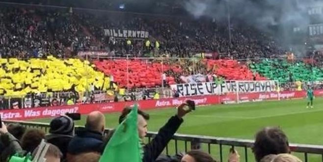 St. Pauli taraftarlarından terör örgütüne destek