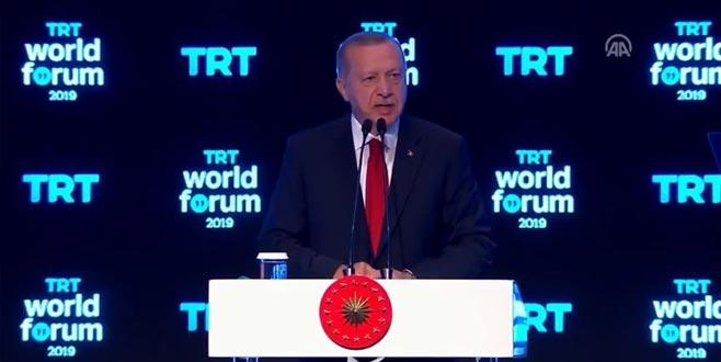 Erdoğan: Terör örgütleriyle masaya oturmayız