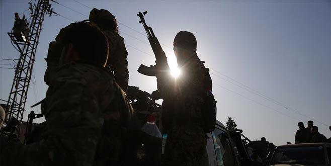 Teröristler Suriye Milli Ordusu'na saldırdı