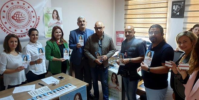 Mudanya Liman Başkanlığı'nda organ bağışı