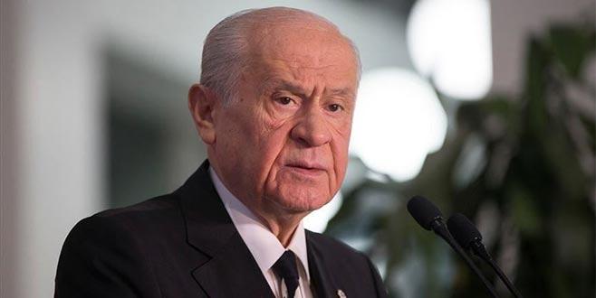 Bahçeli'den, Cumhurbaşkanı Erdoğan'ın ABD ziyaretiyle ilgili açıklama
