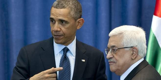 Obama Abbas'ı tehdit etmiş