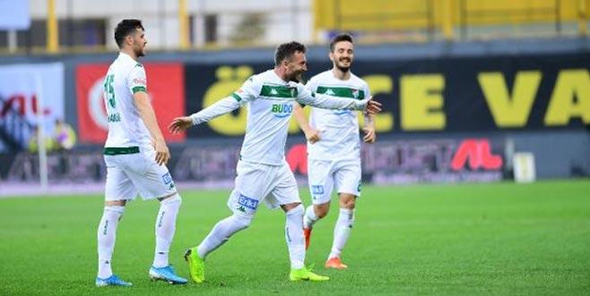 Bursaspor daha golcü