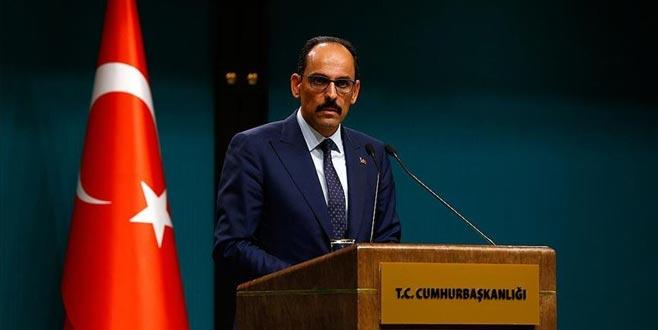 Cumhurbaşkanlığı Sözcüsü Kalın: Cumhurbaşkanı Erdoğan ve Putin görüşecek