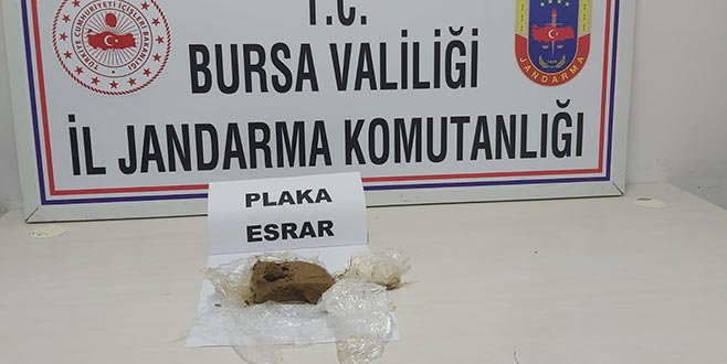 Bursa'da jandarmadan şok operasyon! Gözaltına alındılar