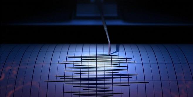 O ülkede panik! 5,9 büyüklüğünde deprem