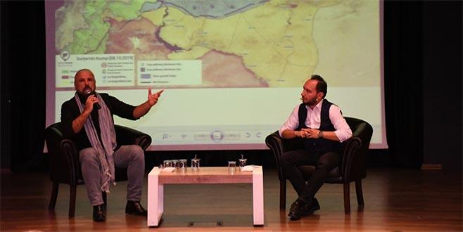 Mete Yarar, Barış Pınarı Harekatının şifrelerini İnegöl'de anlattı