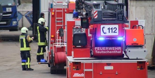 Almanya'da maden ocağında patlama: 30 işçi mahsur