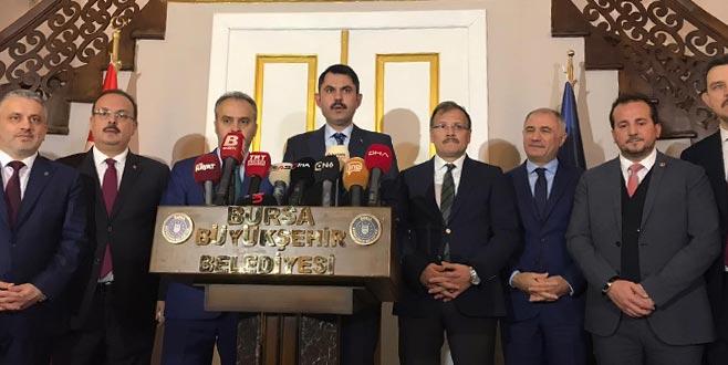 Bakan'dan Bursa'da önemli açıklamalar