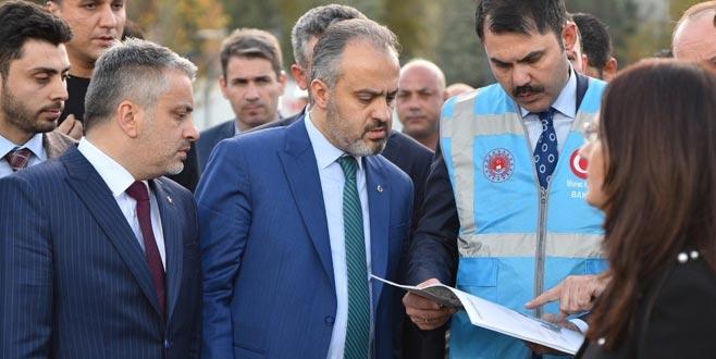 Alinur Aktaş, 'Bursa'mıza hayırlı olsun' deyip müjdeyi verdi!